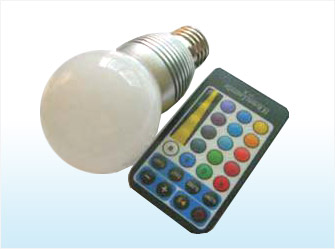 5W Bulbs, Remote Control Dimmable